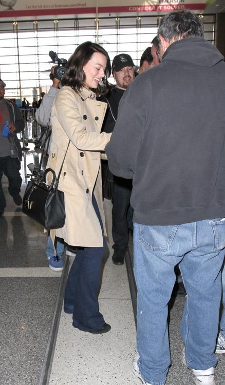 Margot Robbie Fendi 2Jours Mini Tote Bag-2