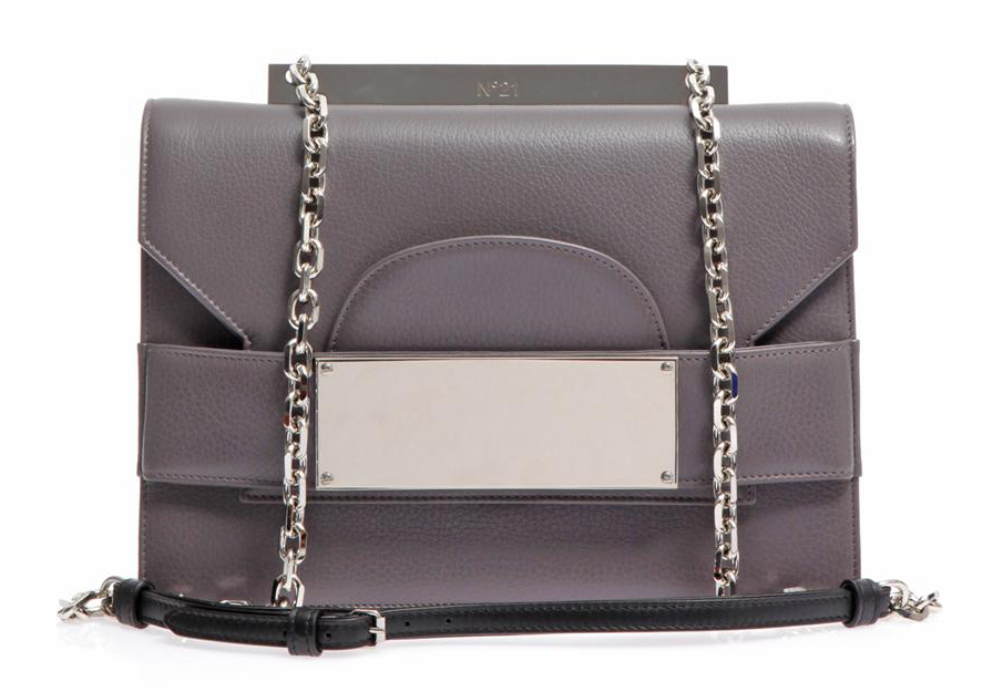 No 21 Leather Crossbody Bag