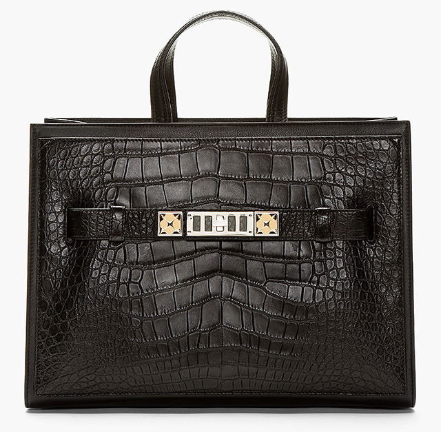 Proenza Schouler Alligator PS1 Large Tote