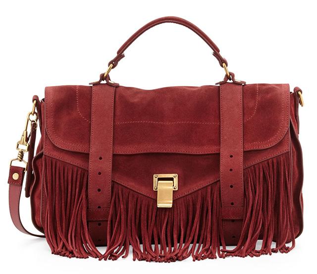 Proenza Schouler Fringe PS1 Bag