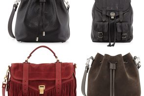 Proenza Schouler Adds Fringe, Bucket Bags to its Fall 2014 Line