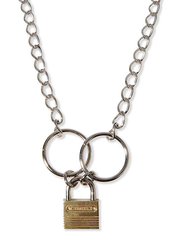 Rodarte Padlock Necklace