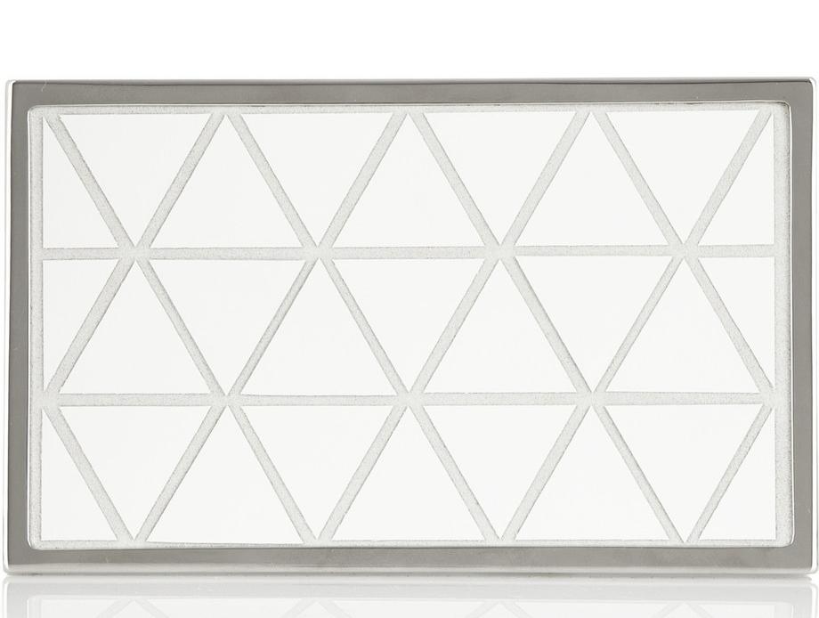 Victoria Beckham Triangular Box Clutch