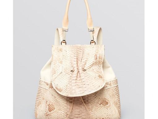 Yliana Yepez Capri Python Backpack