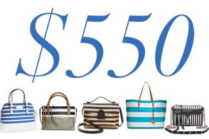 5 Under $500: Striped Bags