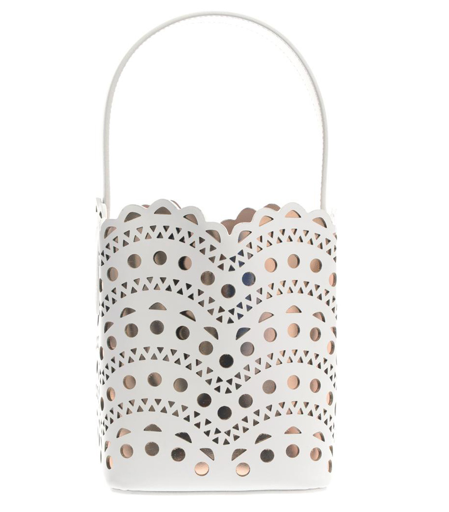 Azzedine Alaia New Vienne Laser Cut Bag