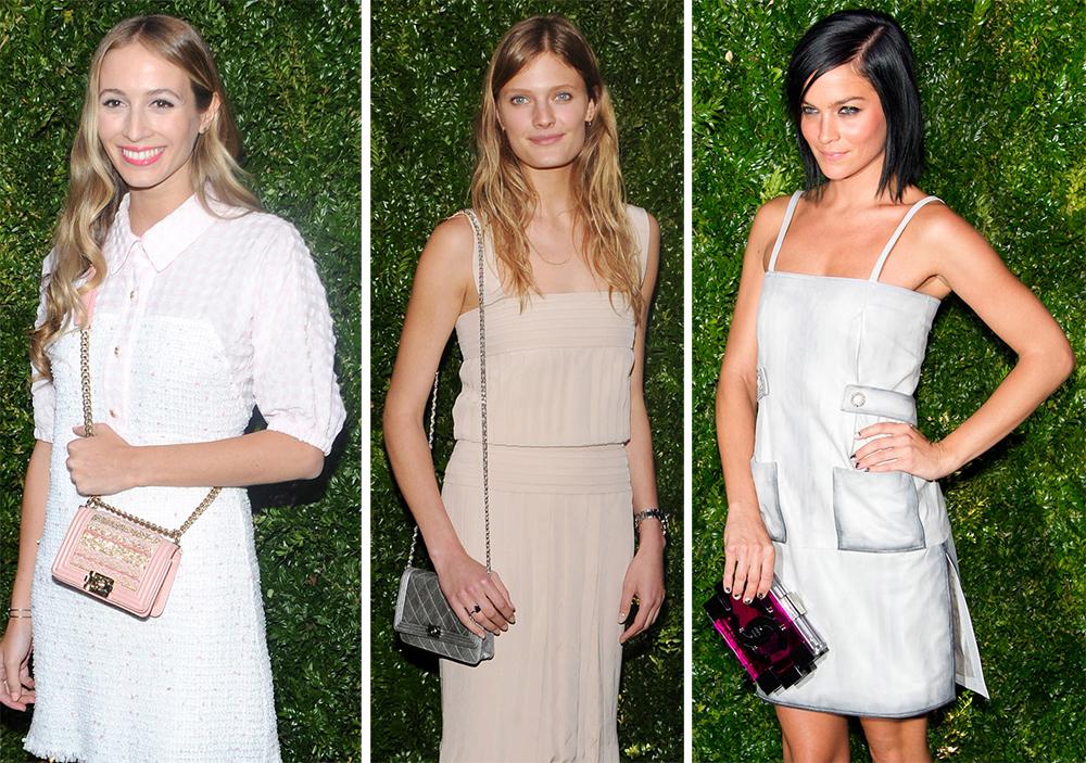 Chanel Tribeca Film Festival Dinner Handbags