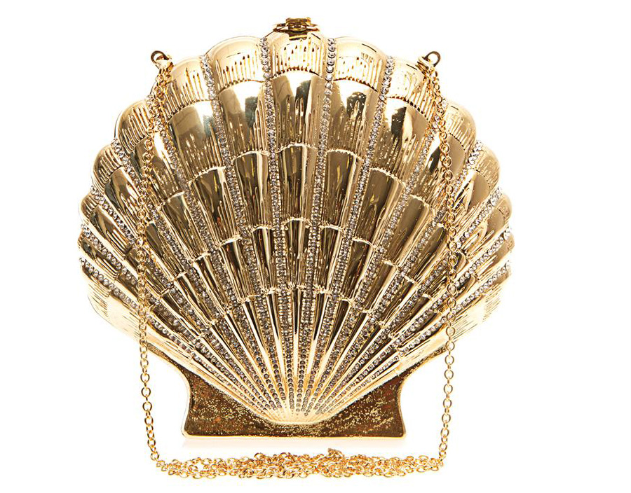 Charlotte Olympia Shell Shocked Clutch