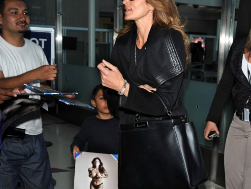 Cindy Crawford Fendi Peekaboo Bag