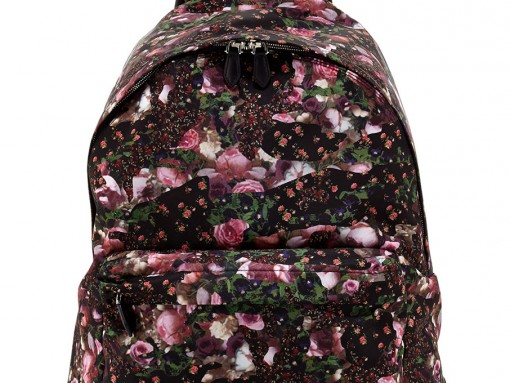 Givenchy Mens Floral Nylon Backpack