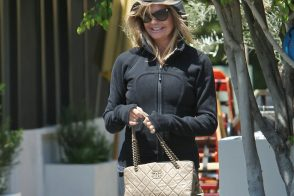 Goldie Hawn Pairs Chanel with Lululemon