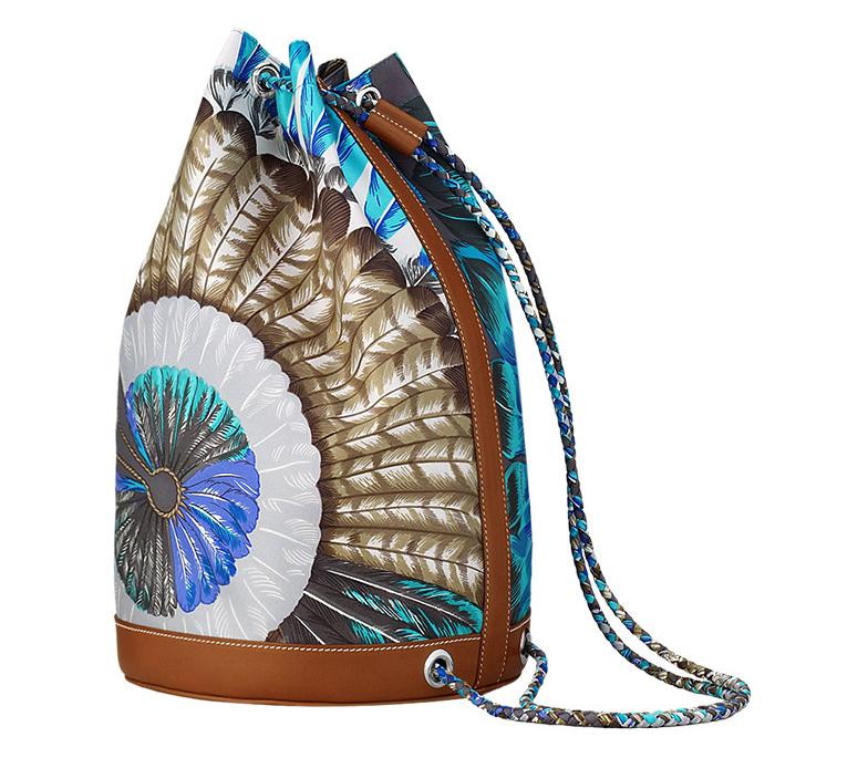 Hermes Soie-Cool Bucket Bag