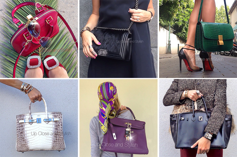 Instagram Handbags Up Close and Stylish