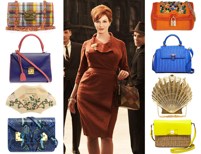 Joan Holloway Mad Men Handbags