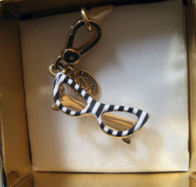 Juicy Couture Glasses Charm