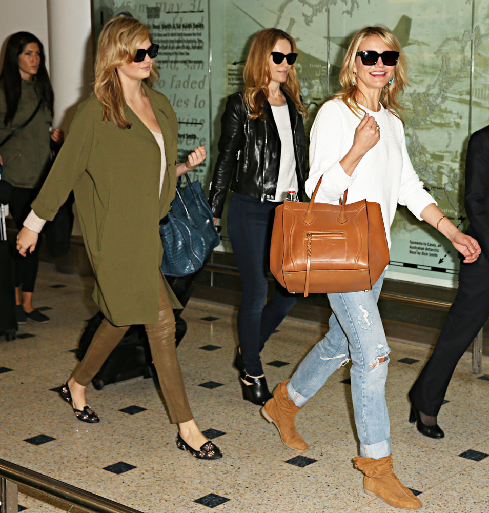 handbags celine price - Kate Upton and Cameron Diaz Travel with Celine Bags - PurseBlog