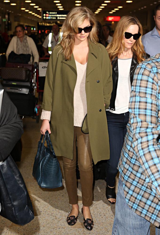 Kate Upton Cameron Diaz Celine Luggage Totes-2