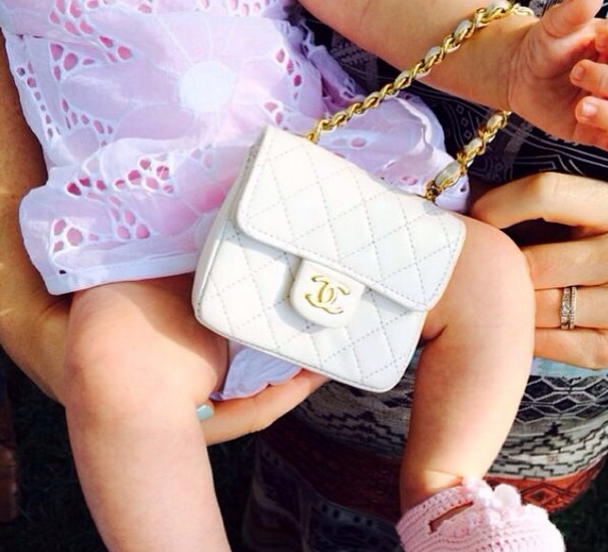 Katy Perry Baby Chanel Bag