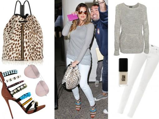 Khloe Kardashian Elizabeth and James Cynnie Bag