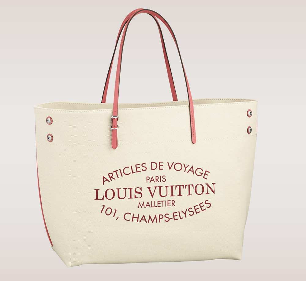 Louis Vuitton Cabas GM Tote Corail