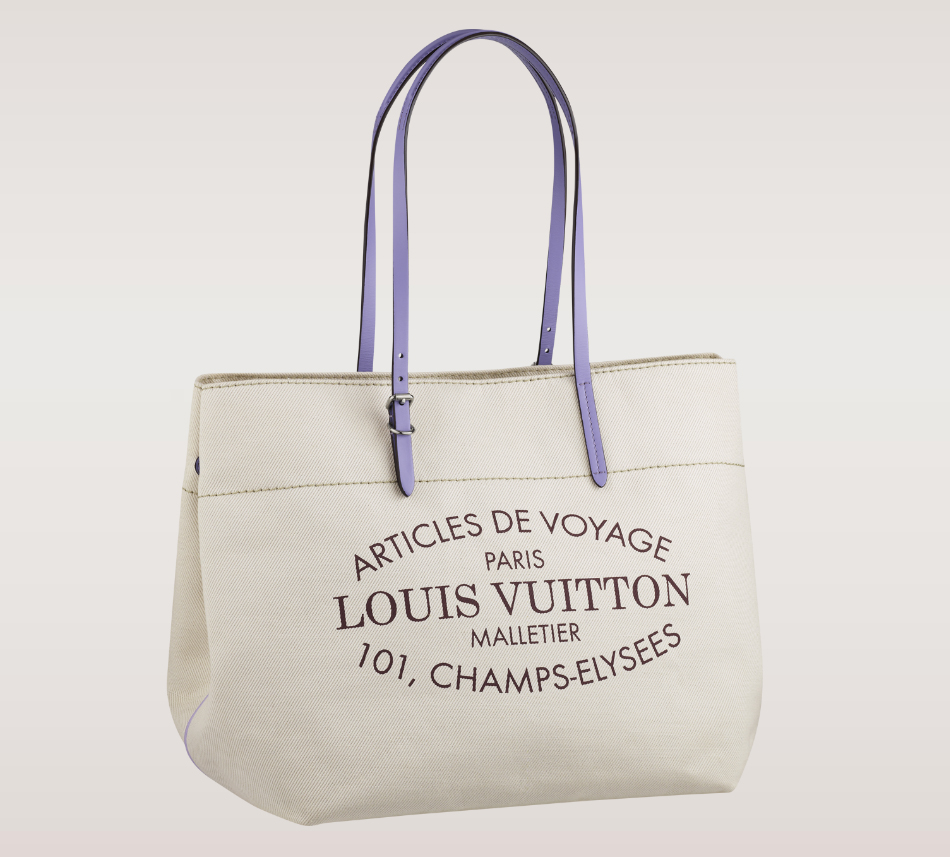 Louis Vuitton Cabas MM Tote Lilas