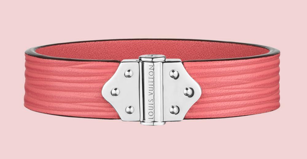Louis Vuitton Epi Spirit Bracelet Corail