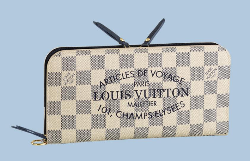 Louis Vuitton Insolite Wallet Damier Azur