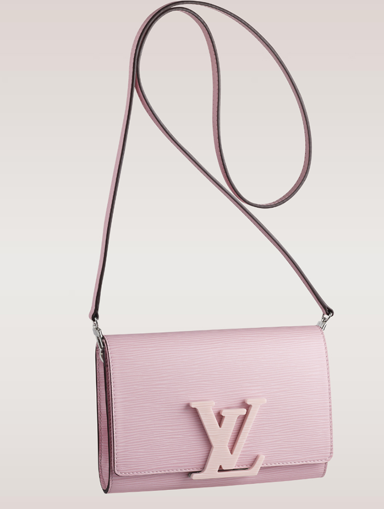 Louis Vuitton Louise Epi Bag Rose Clair