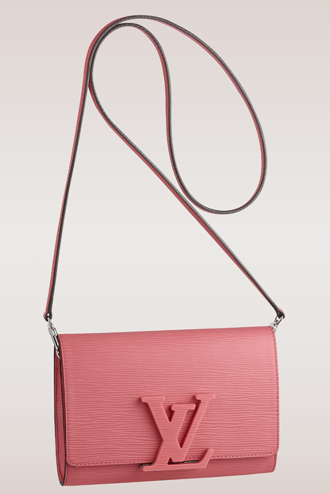 Louis Vuitton Louise Epi Leather Shoulder Bag Corail