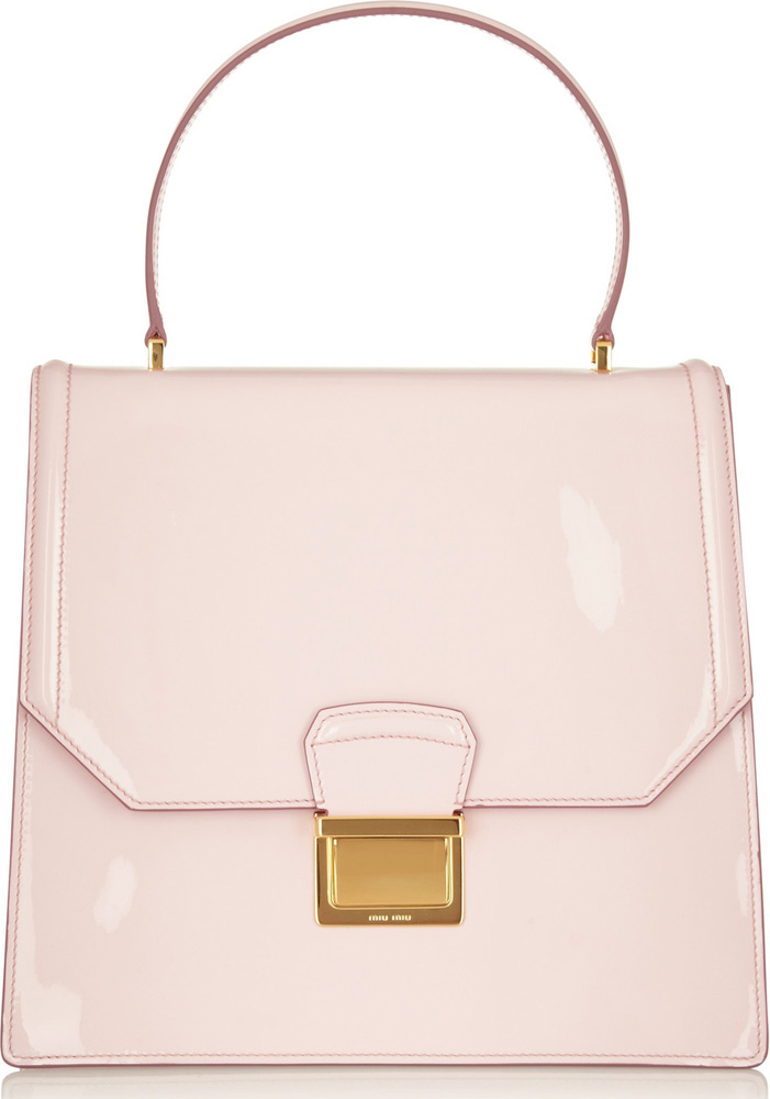 Miu Miu Lady Patent Leather Tote