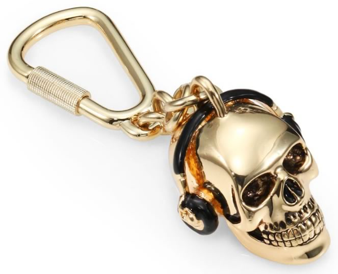 Paul Smith Skull Key Ring