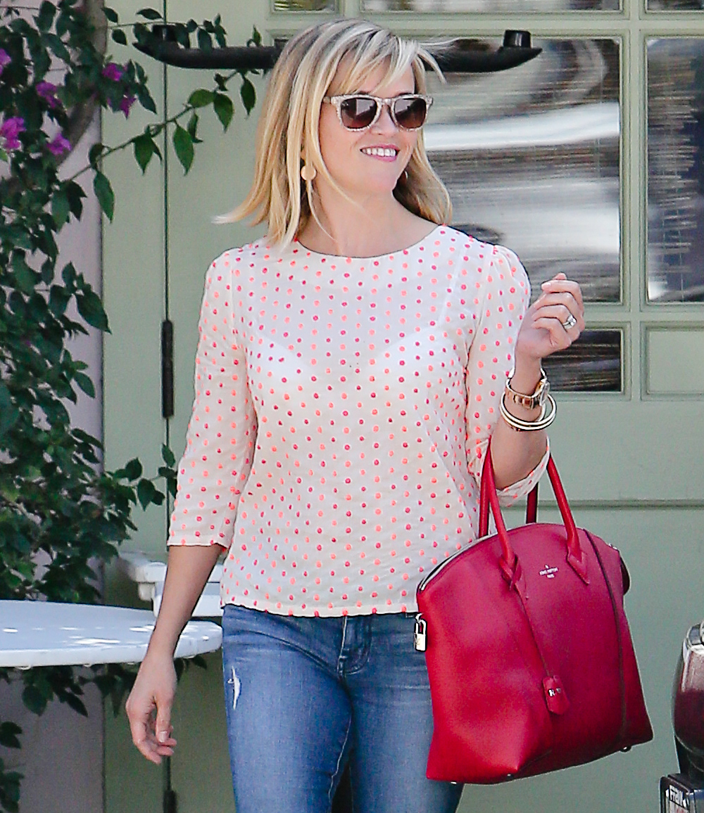Reese Witherspoon Louis Vuitton Soft Lockit