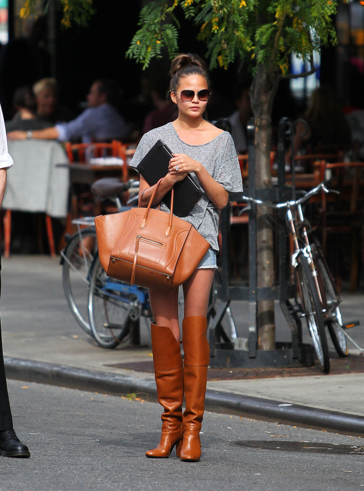 The Many Bags of Chrissy Teigen-11