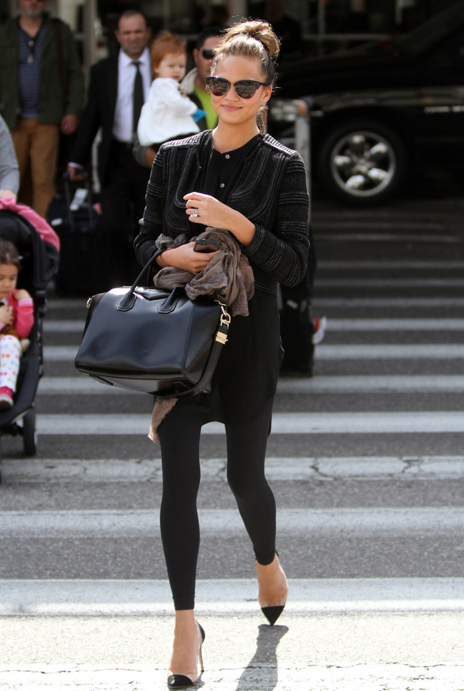 The Many Bags of Chrissy Teigen-13