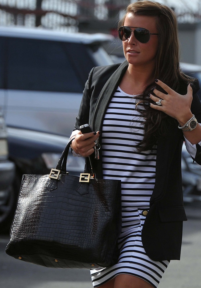 The Many Bags of Europe's WAGs-12