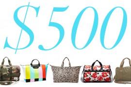 5 Under $500: Memorial Day Weekend Getaway Bags