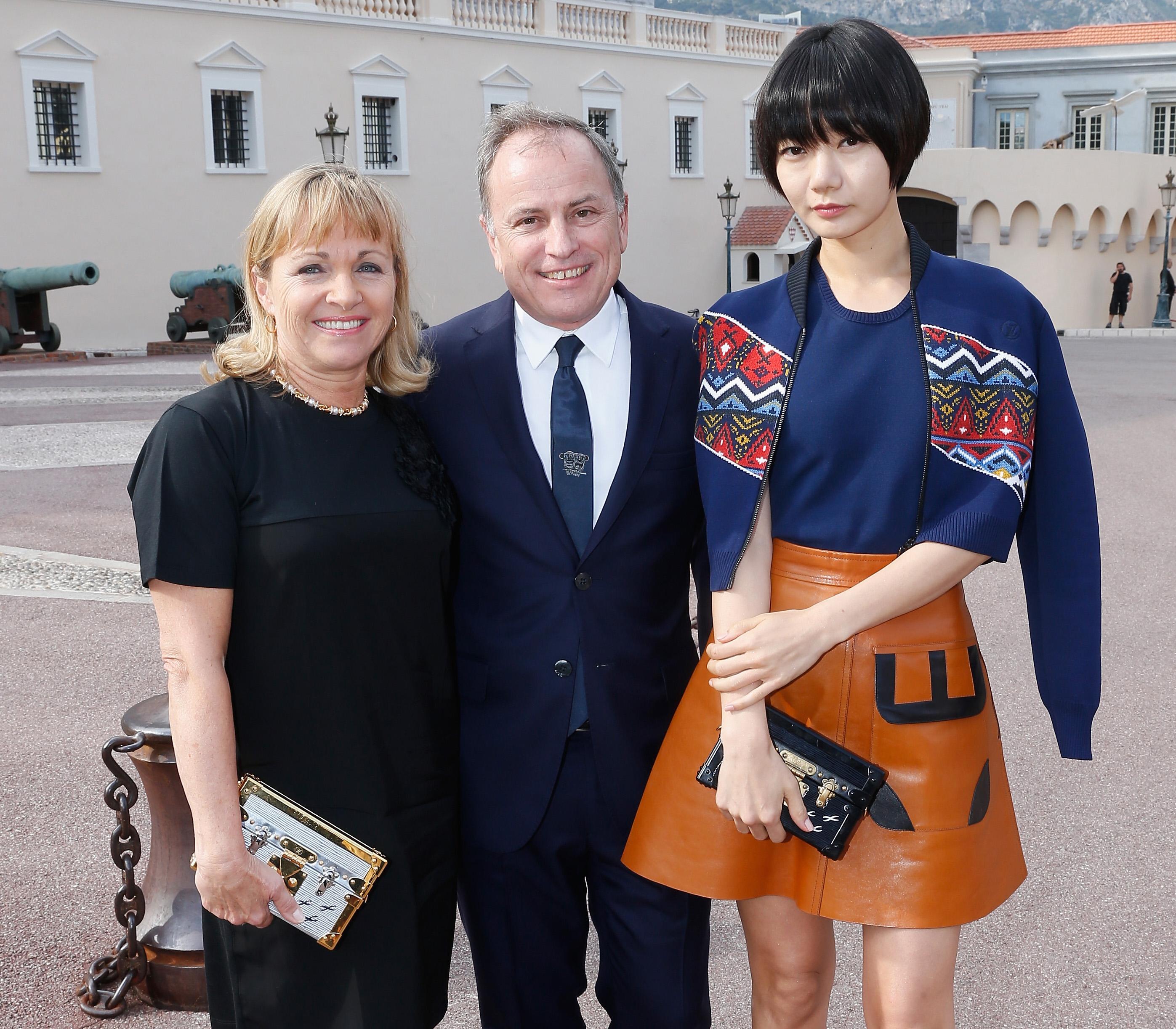 Brigitte Burke Mae Doona Louis Vuitton Petite-Malle Bags