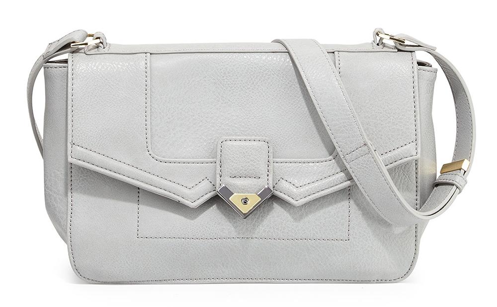 Carlos Falchi Jade Faux Leather Shoulder Bag