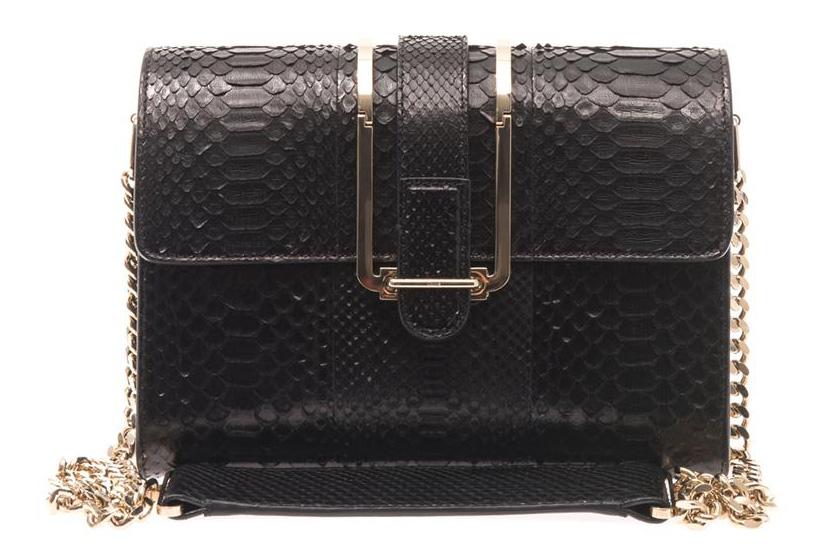 Chloe Bronte Python Shoulder Bag