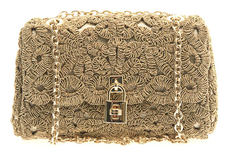 Dolce & Gabbana Miss Dolce Embroidered Shoulder Bag, $1,820 via MATCHESFASHION.COM