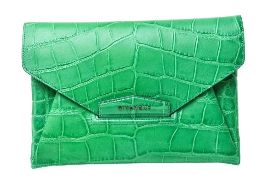 Givenchy Antigona Envelope Clutch, $1,083 via MATCHESFASHION.COM