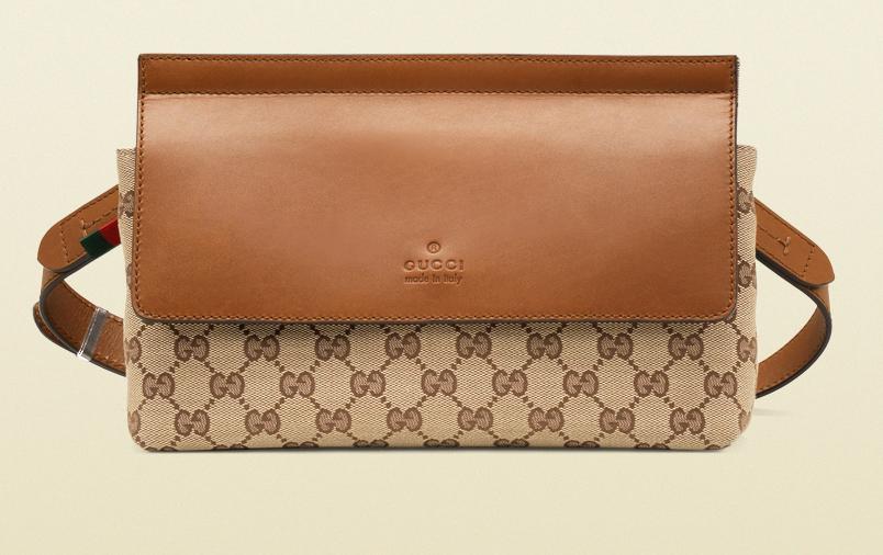 Gucci Original GG Canvas Belt Bag