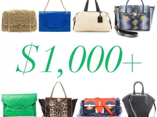 Handbags Over $1000