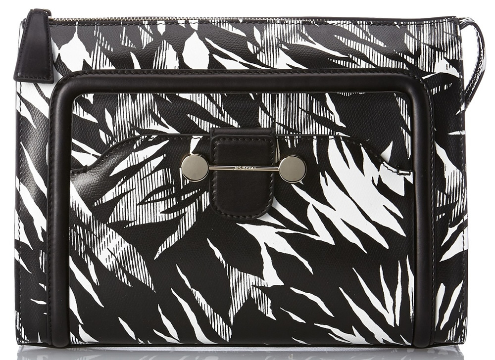Jason Wu Daphne 2 Tropical Print Clutch
