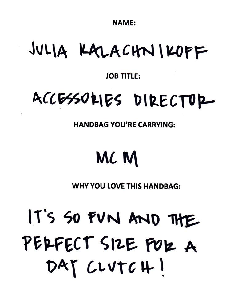 Julia Kalachnikoff MCM Answers