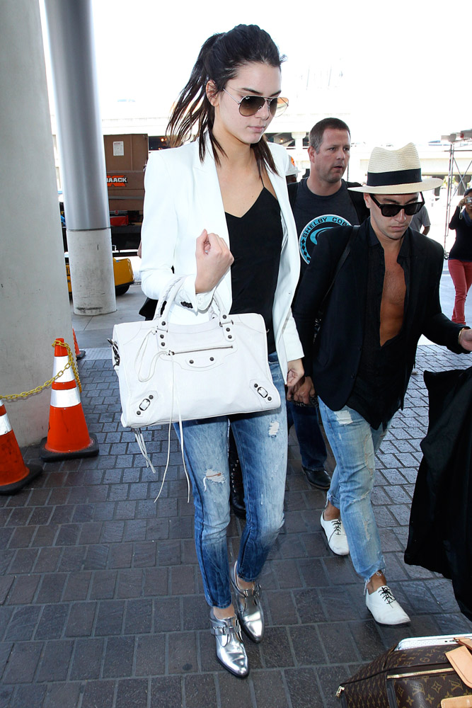 Kendall Jenner Balenciaga City Bag-1