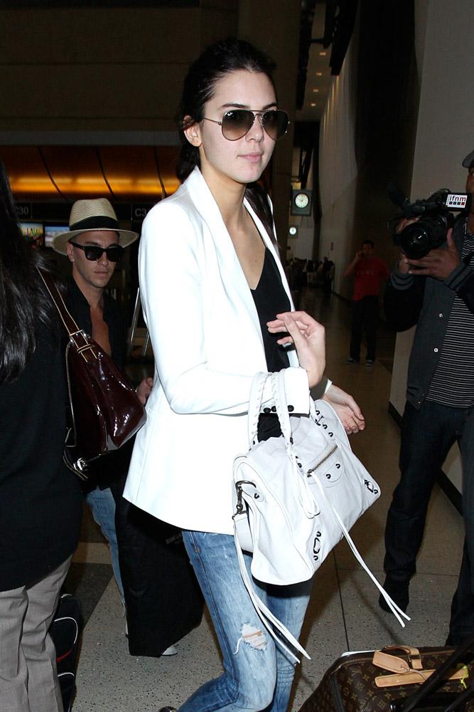 Kendall Jenner Balenciaga City Bag-4