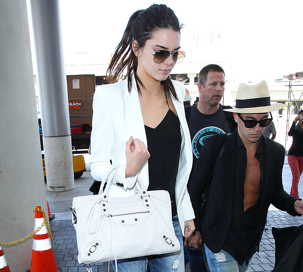 Kendall Jenner Balenciaga City Bag