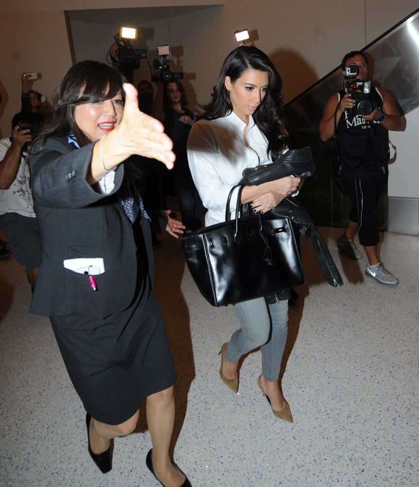 Kim Kardashian Hermes So Black Birkin-3