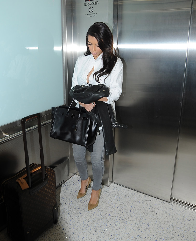 Kim Kardashian Hermes So Black Birkin-4